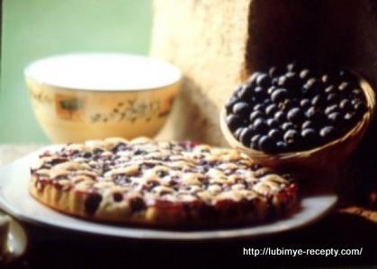 Французский десерт - клафути