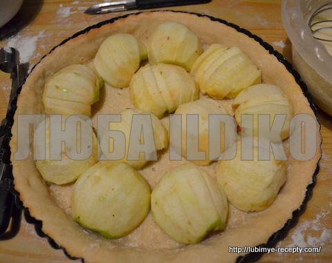 Эльзасский пирог с яблоками 2