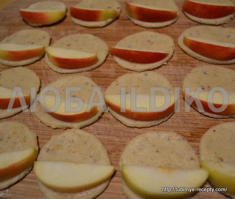 Печенье с яблоками 4