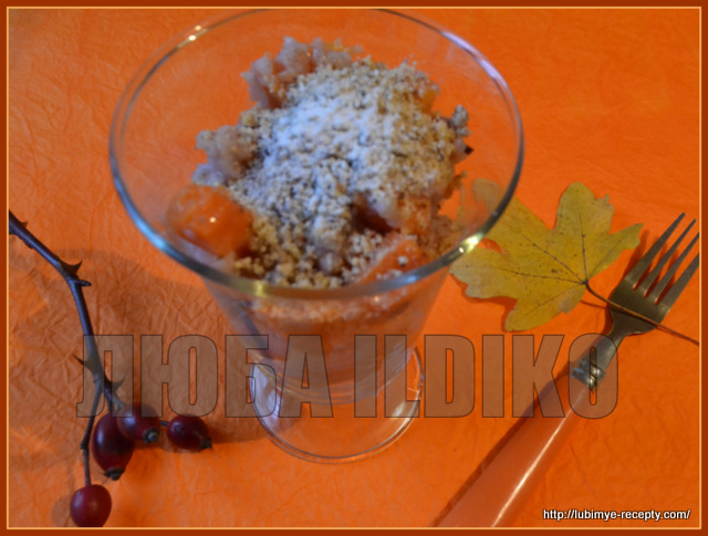 Блюда грузинской кухни. Лечери - рецепт десерта с тыквой
