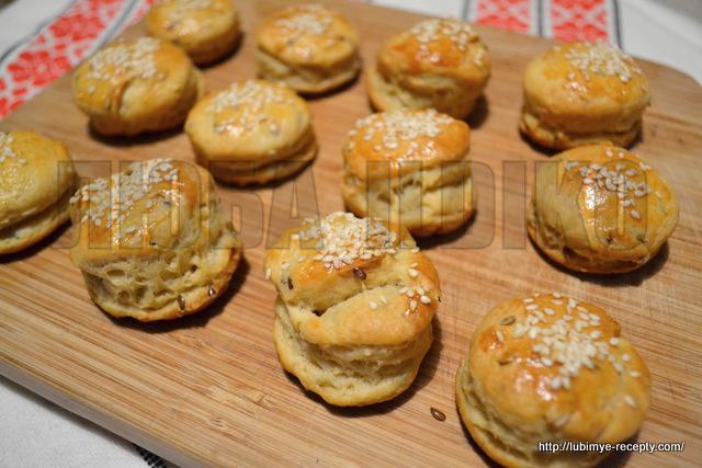Блюда венгерской кухни - рецепт погача 13