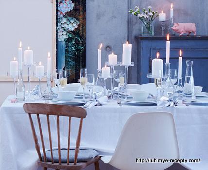 Идеи украшения новогоднего шведского стола