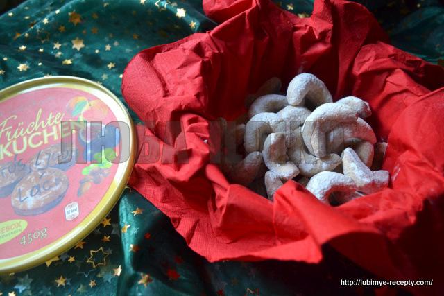 Рождественское печенье полумесяцы 4