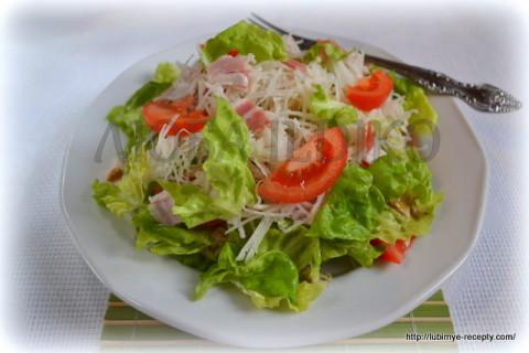 Новый овощной салат без майонеза 2