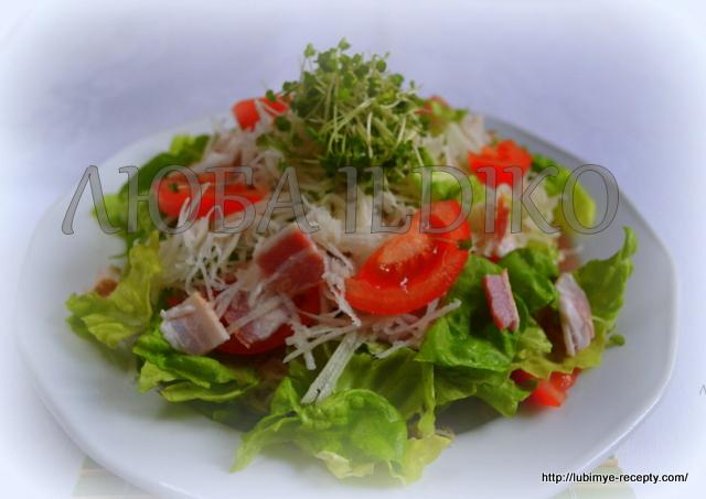 Новый овощной салат без майонеза 3