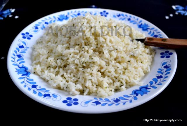 Вкусный рассыпчатый рис на гарнир по-венгерски