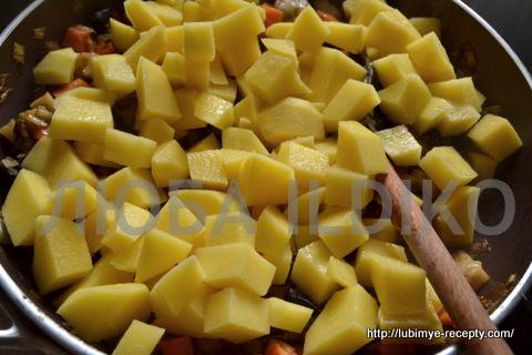 Чешская кухня. Картофельный суп с грибами 2
