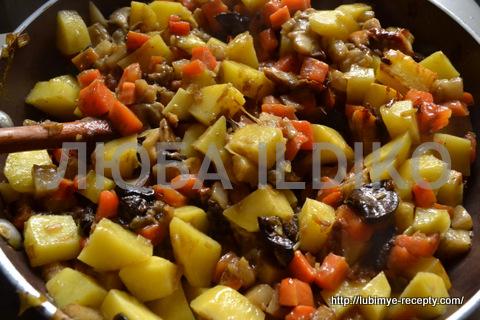 Чешская кухня. Картофельный суп с грибами
