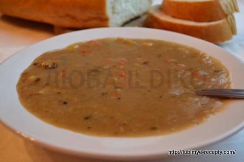 Чешская кухня. Картофельный суп с грибами 7