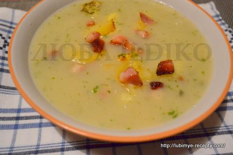 Старинный рецепт чешского картофельного супа 5