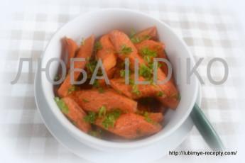 Морковь в духовке 1