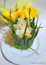 Салат с цветами 13