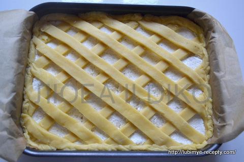 Решетчатый пирог