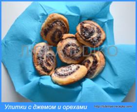Рулетики с орехами 9