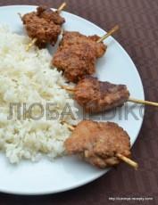 Шашлычки из курицы 5