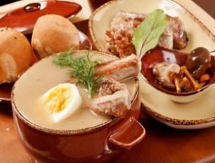 Белорусские блюда с забавными названиями - крамбамбуля, мачанка, цыбрики, кныш, перапечки и другое.