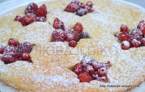 Торт со свежими  ягодами 12