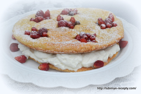 Торт со свежими  ягодами 11