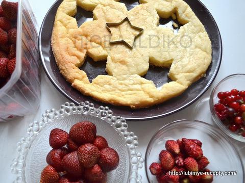 Торт со свежими  ягодами 9