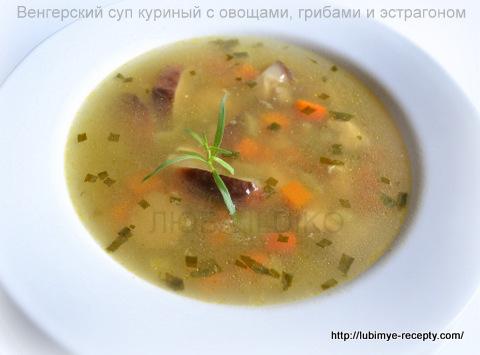 Куриный суп с овощами 5