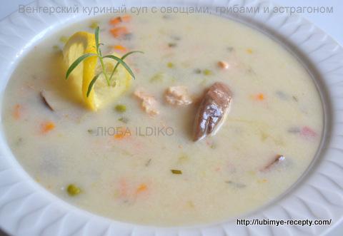 Куриный суп с овощами 6