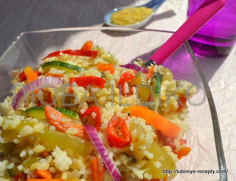 Гарнир с овощами
