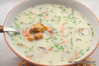 Грибной суп из лисичек 10