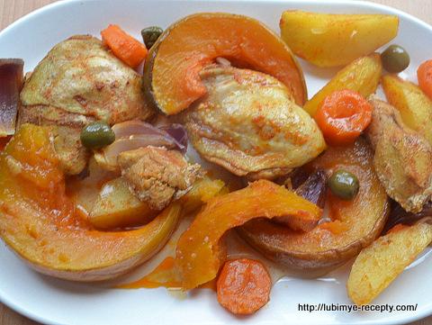 Запеченное мясо с грибами рецепт с фото