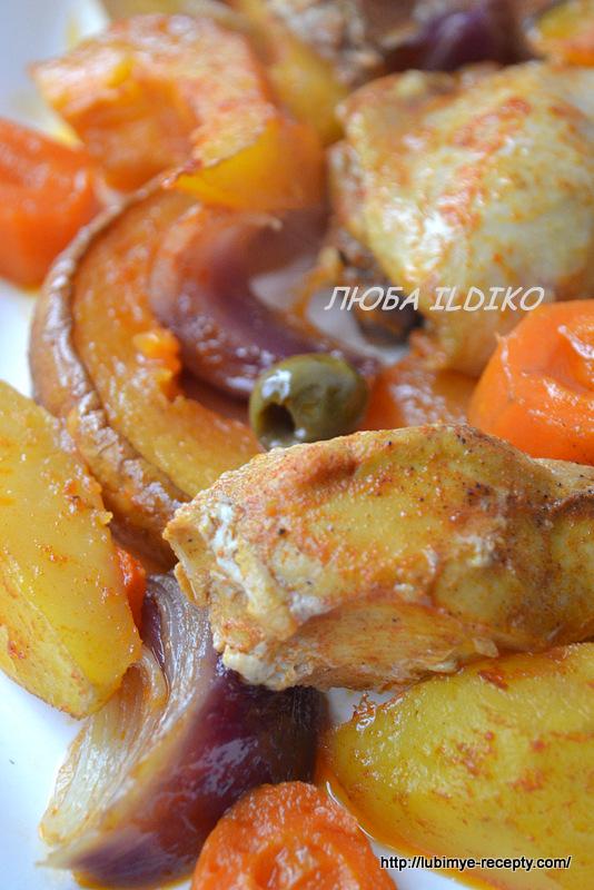 Курица с тыквой2