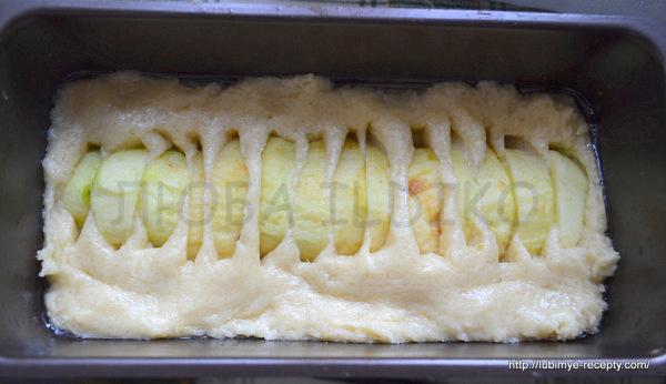 Пирог с карамельными яблоками2