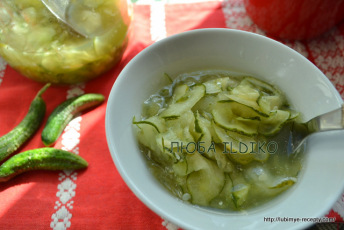 Салат из огурцов по-венгерски