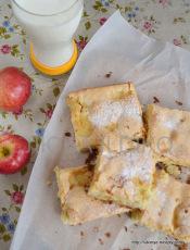 Легкий пирог с яблоками4
