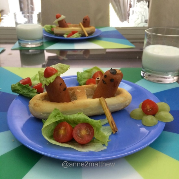 Веселые завтраки для детей