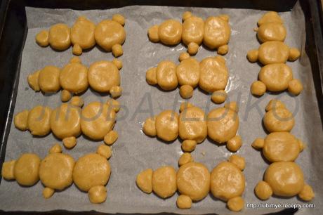 Печенье снеговики3