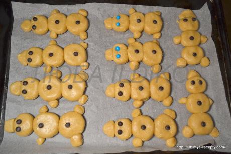 Печенье снеговики4