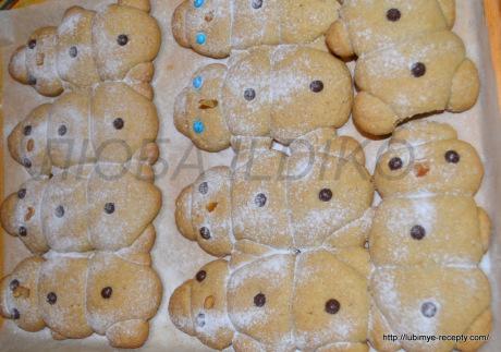 Печенье снеговики5