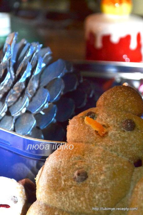 Печенье снеговики7
