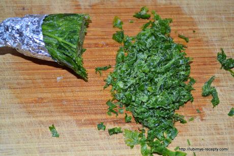 Салат с копчёной скумбрией7