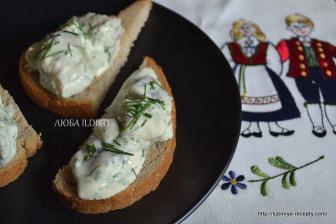 Норвежский рецепт бутербродов с сельдью 3