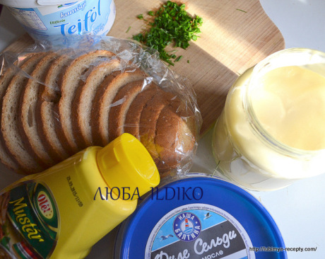 Норвежский рецепт бутербродов с сельдью