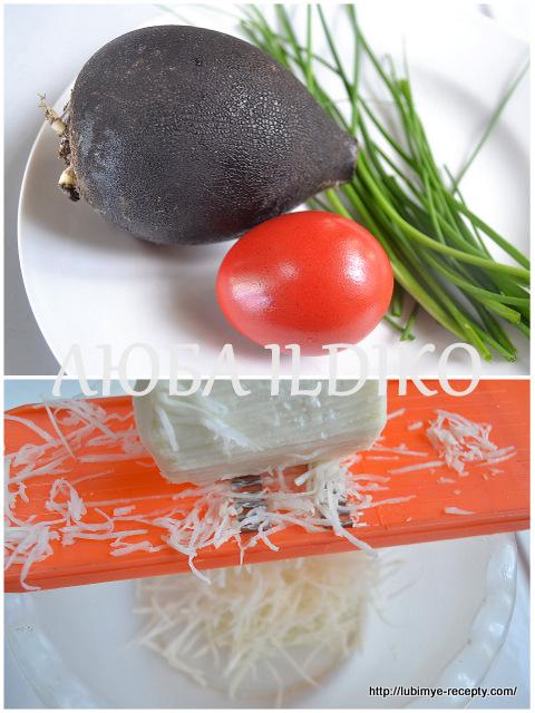 Простые салаты без майонеза 11