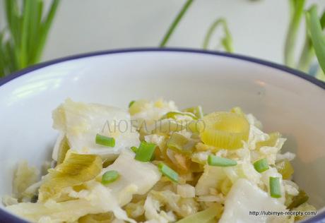 Простые салаты без майонеза 1