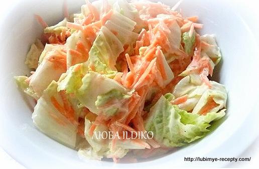 Day, майонеза Лёгкий салат без counting