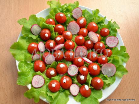 Простые салаты без майонеза 9