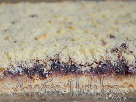 Тертый пирог с вареньем6