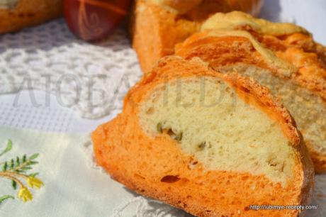 Хлеб на томатном соке 6