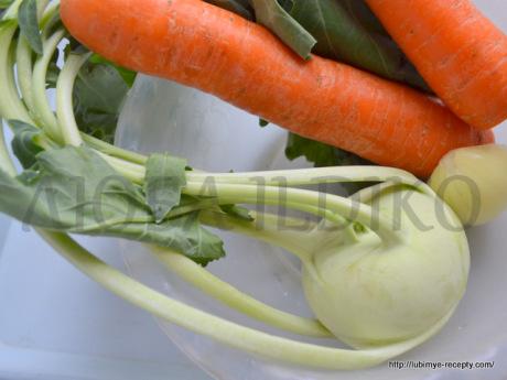 Морковные оладьи