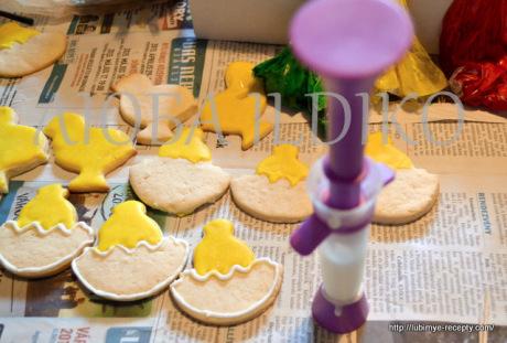 Печенье зайчики 10