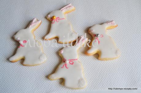 Печенье зайчики 8
