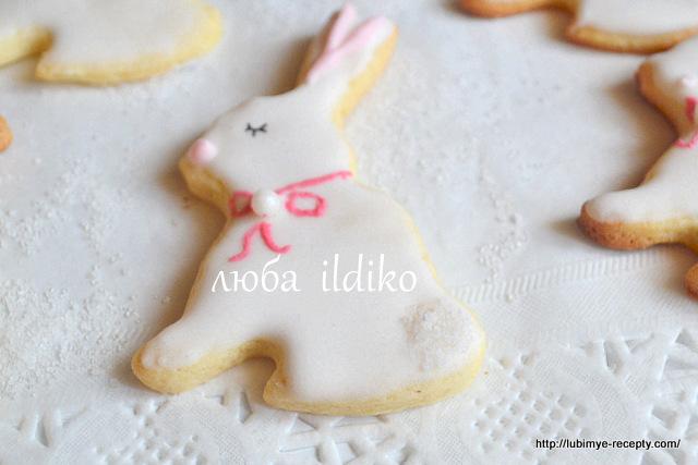Печенье зайчики 9